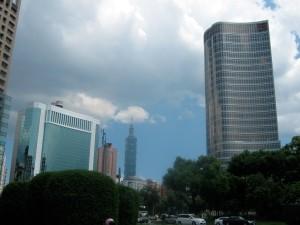 Taipei 101 and skyline
